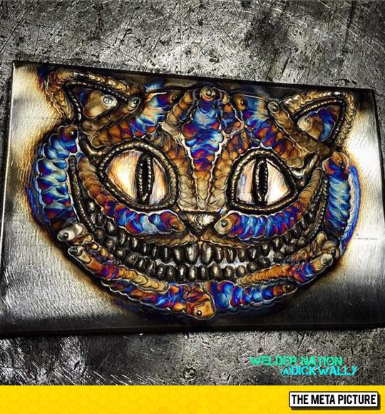 cool-Cheshire-cat-weld-art
