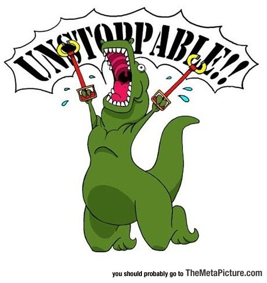 cool-trex-happy-jumping