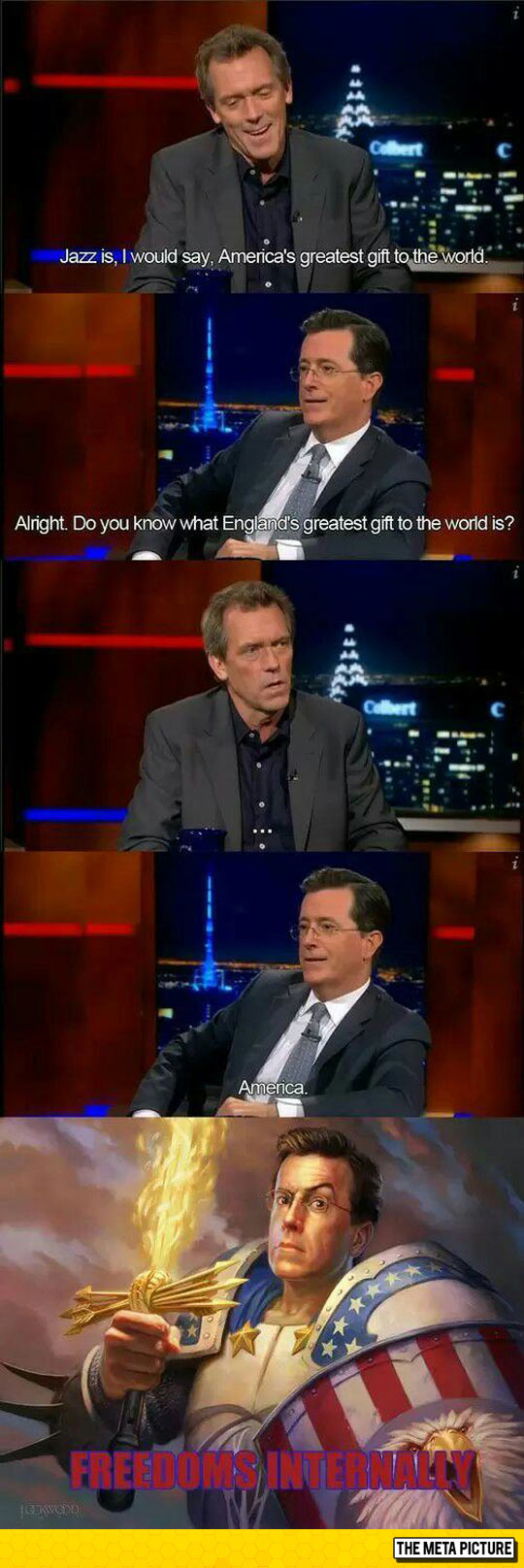 funny-Hugh-Laurie-Colbert-America-gift
