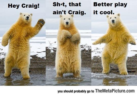 Oops, Not Craig