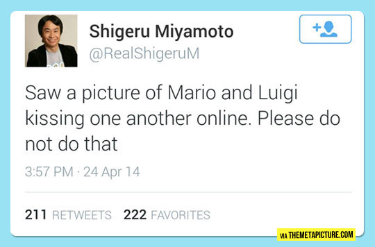 Shigeru Miyamoto Request To The Internet
