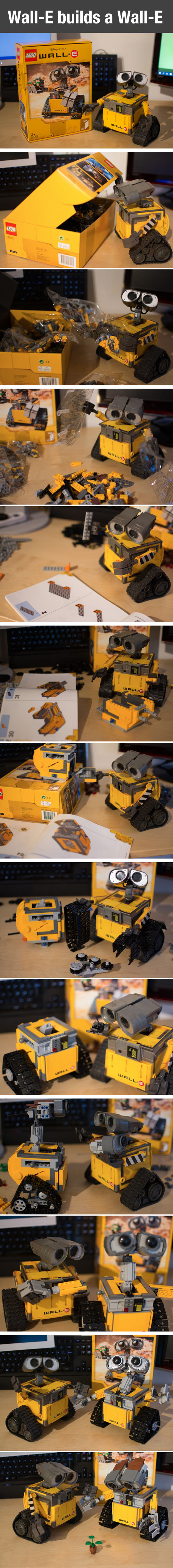 When A Wall-E Builds A Wall-E