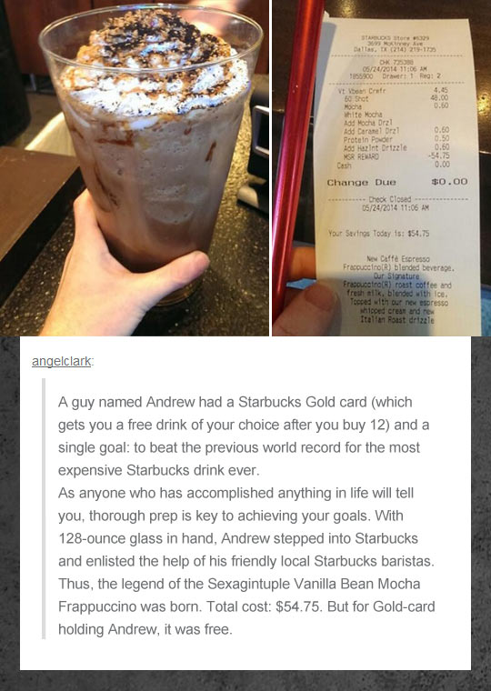 The Most Expensive Starbucks Drink Ever