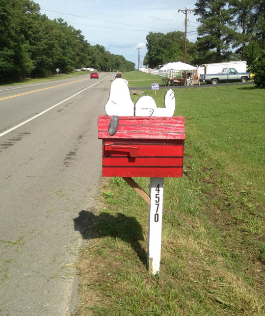 Such An Awesome Idea For A Mailbox