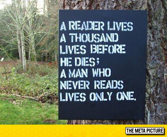 Life Of A Reader