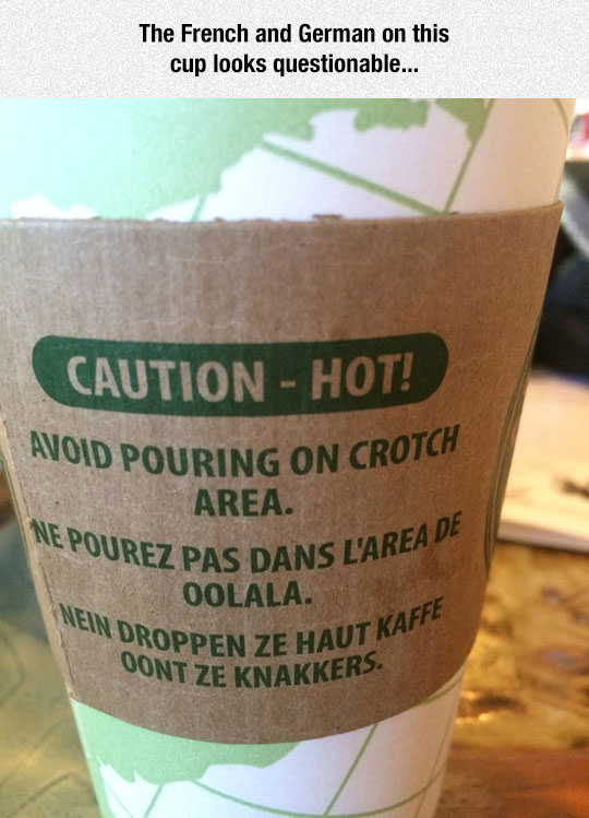 Questionable Translation