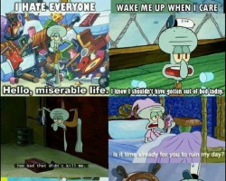 I Turned Out To Be Like Squidward