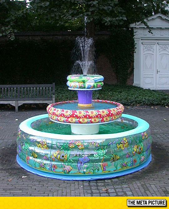 Now This Is A Different Kind of Fountain