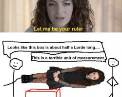 Another Use For Lorde