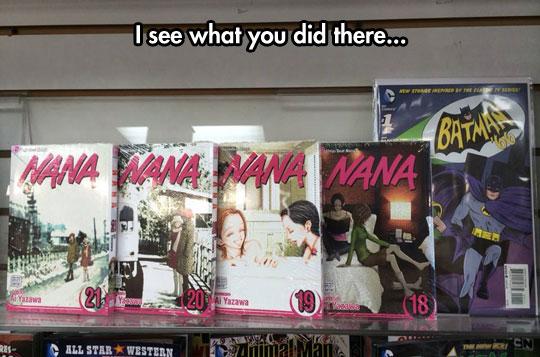 Comic Book Store Humor