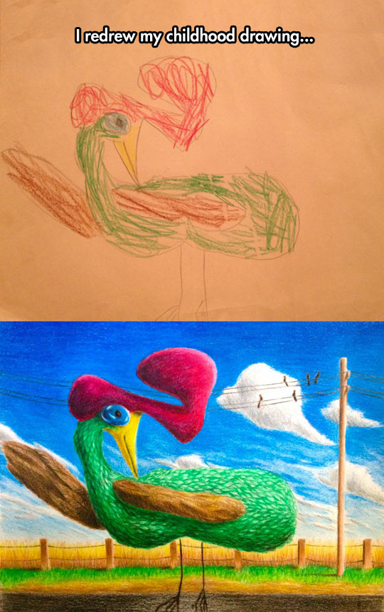 Childhood Art Update