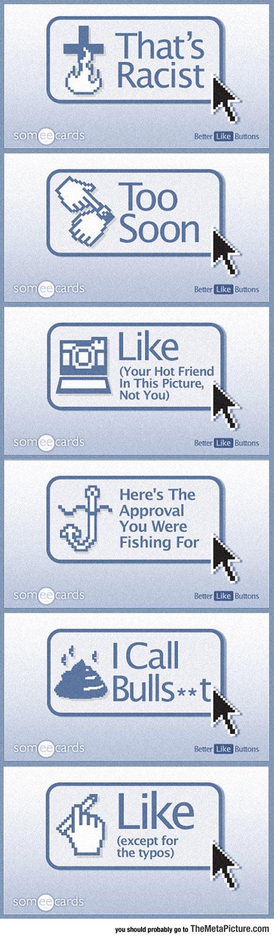 Better Buttons For Facebook