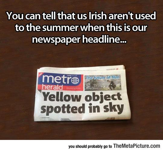 cool-Irish-sky-summer-sun-newspaper