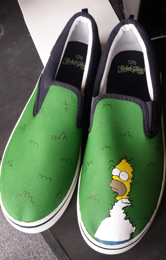 cool-Simpsons-shoes-Homer