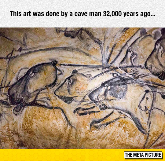 32,000-Years-Old Art