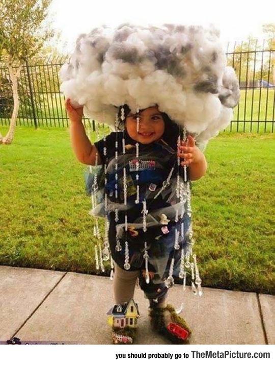 Dressed As El Niño For Halloween