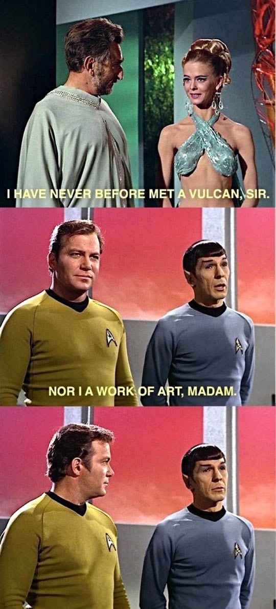 Spock Was A Smooth Operator
