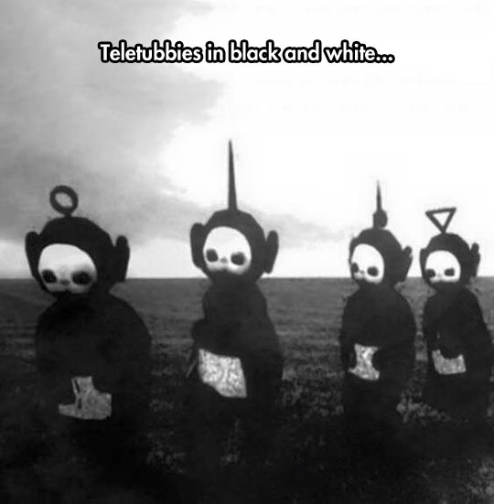 funny-Teletubbies-black-and-white-creepy