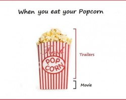 When To Eat Your Popcorn