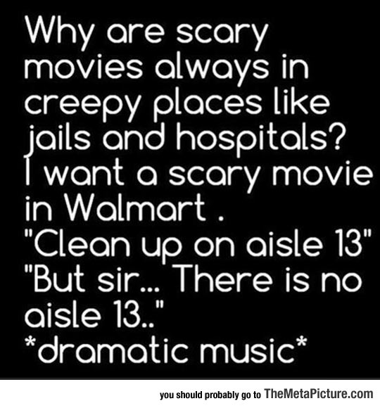 Scary Movies These Days