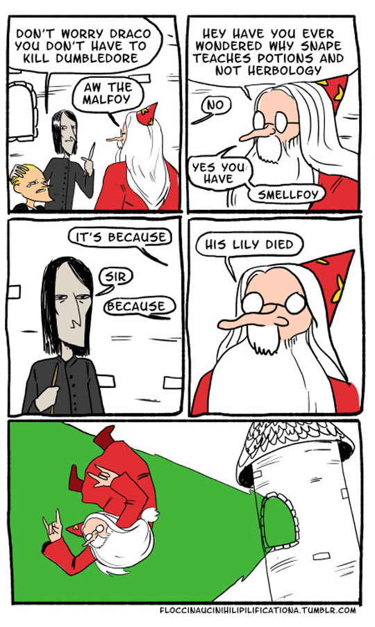 Dumbledore Takes It Too Far