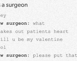 If I Ever Become A Surgeon