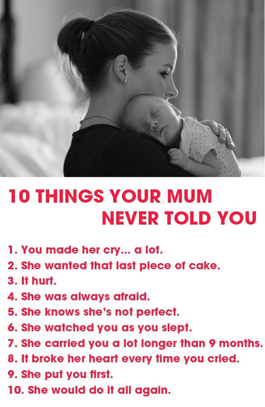 10 Things She Never Told You