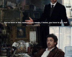 I Know That Feel, Sherlock