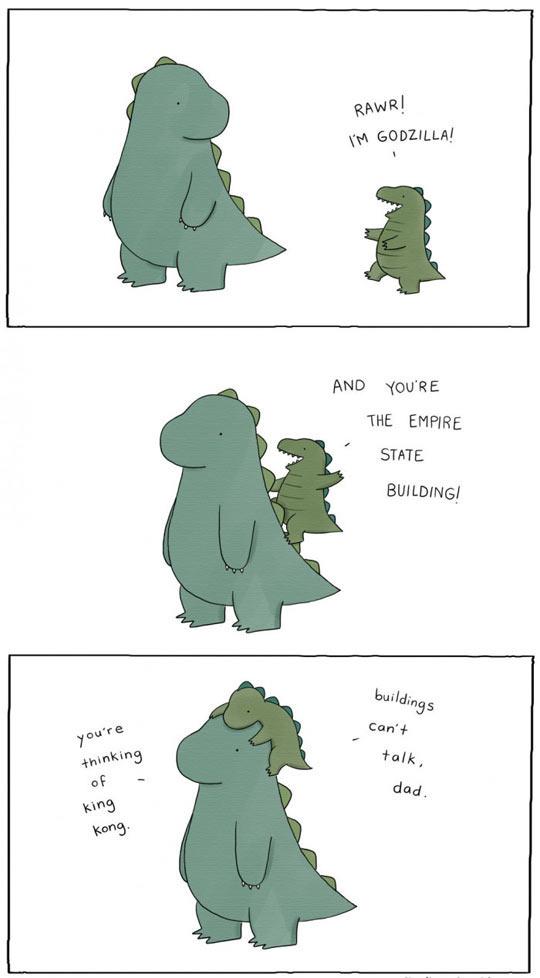 Rawr, I'm Godzilla