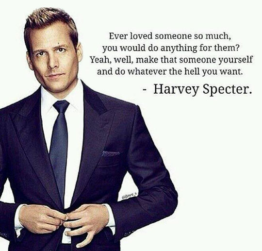 cool-Harvey-Specter-quote-love