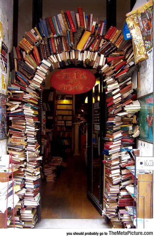 Possibly The Coolest Entrance To A Bookstore