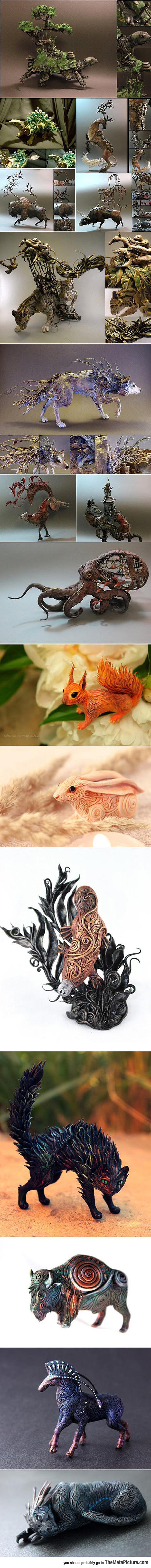 cool-animals-nature-tree-sculptures