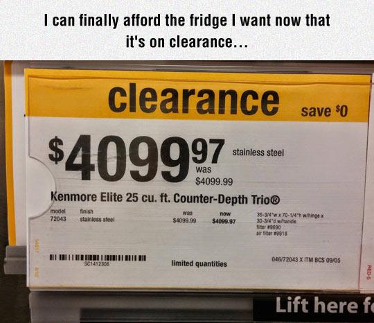 funny-price-fridge-clearance-save