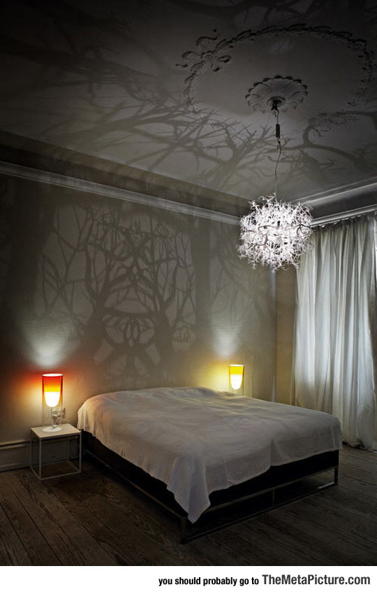 Chandelier Turns Any Room Into Haunted Woods