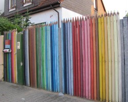 Awesome Pencil Fence
